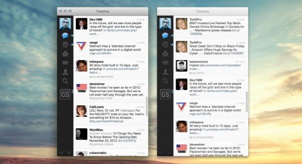 Apple Macbook Pro Retina: ecco come migliorare l'app di Twitter