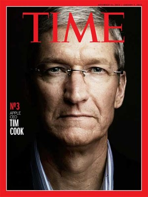 La rivista Time parla di Tim Cook, CEO di Apple