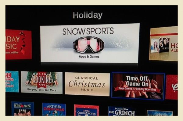 Apple TV: compare per errore la sezione dei giochi e delle app
