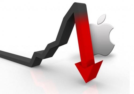 Apple: le azioni AAPL continuano a calare in Borsa