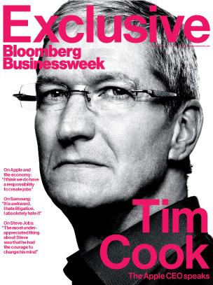 Tim Cook: intervista alla rivista BusinessWeek sui nuovi iMac e sulla concorrenza