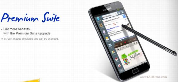 Samsung annuncia le novità della Premium Suite per il Galaxy Note