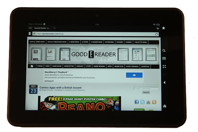 Amazon Kindle Fire HD 8.9: pregi e difetti del nuovo tablet Android