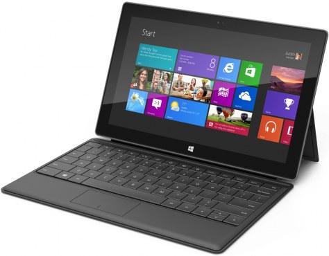Microsoft Surface RT: maggiore disponibilità negli USA da gennaio 2013