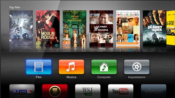 Apple TV: supporto in futuro per le tastiere Bluetooth