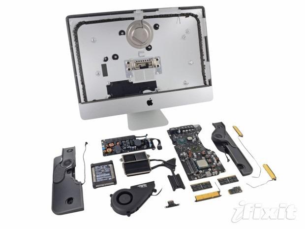 Apple iMac 2012 smontato pezzo per pezzo da iFixit