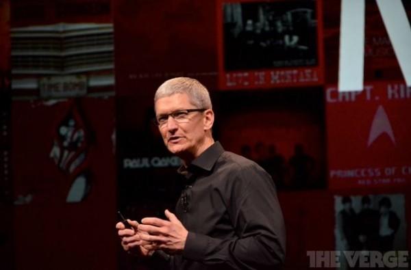 Tim Cook vuola dare una nuova immagine di Apple