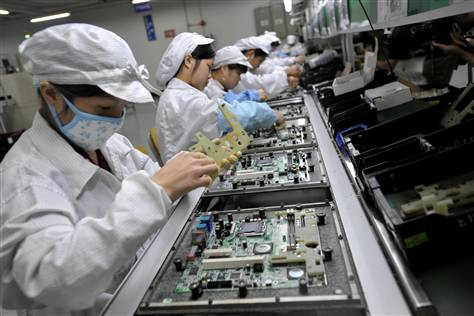 Foxconn: migliorano le condizioni lavorative degli operai