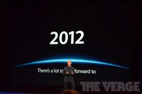 Il 2012 di Apple è stato ricco di indiscrezioni veritiere