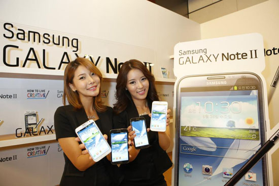 Samsung Galaxy Note 2 arriva a quota 1 milione in Corea del Sud