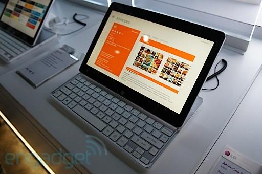 LG Tab-Book: nuova gamma di tablet ibridi con Windows 8