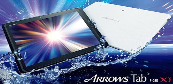 Fujitsu Arrows Tab F-05: nuovo tablet Android con schermo FullHD