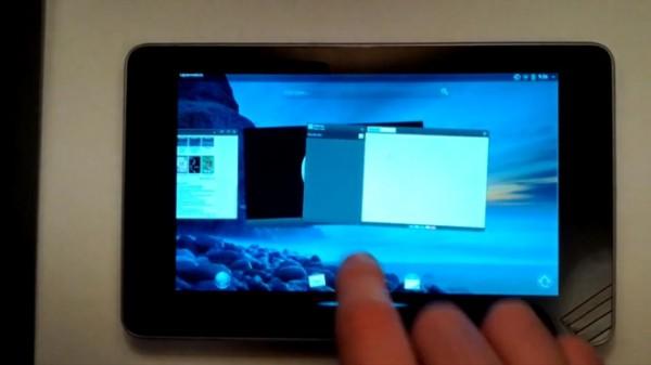 WebOS installato sul tablet Google Nexus 7