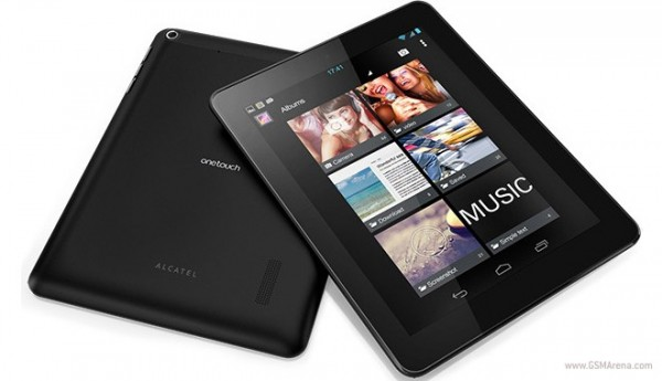 CES 2013: Alcatel annuncia i nuovi tablet One Touch Tab e One Touch Evo 7