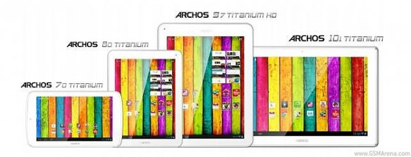 CES 2013: Archos presenta i nuovi tablet Titanium basati su Android 4.1