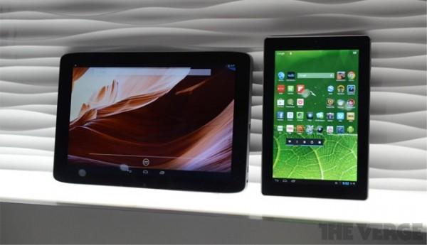 CES 2013: Vizio annuncia due nuovi tablet Android 4.2 Jelly Bean