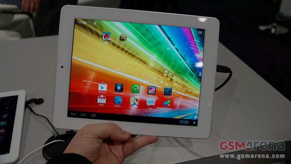 CES 2013: prime impressioni del tablet Archos 97 Platinum