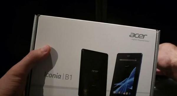 Acer Iconia B1: video unboxing e prime impressioni d'utilizzo