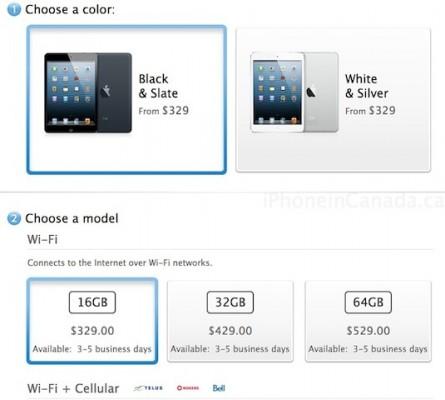 Apple iPad Mini: migliora la disponibilità del piccolo tablet
