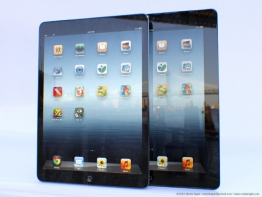 Apple iPad 5: prime immagini di rendering 3D
