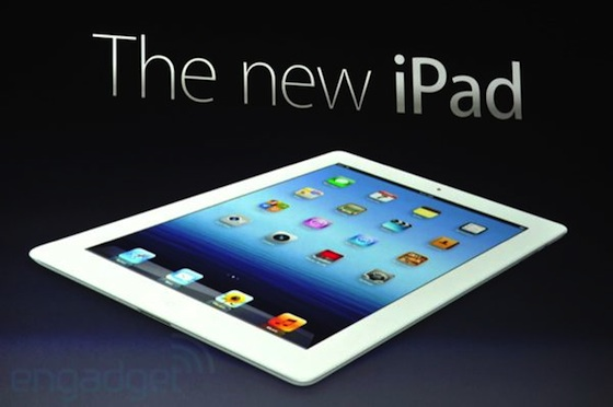 Apple vuole brevettare il design del tablet iPad in Cina