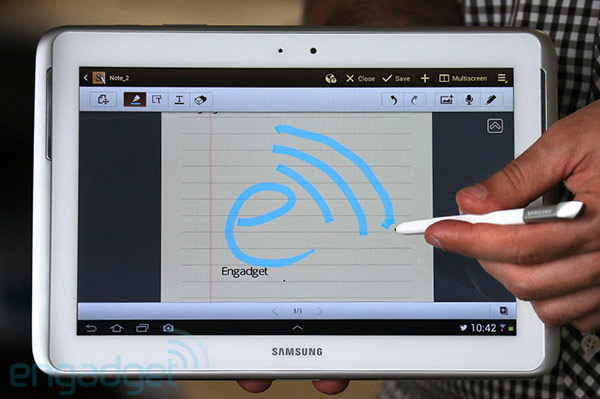 CES 2013: Samsung Galaxy Note 10.1 LTE presto in vendita negli USA con Verizon