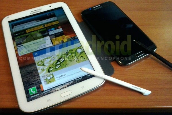 Samsung Galaxy Note 8.0 a confronto con il Galaxy Note 2