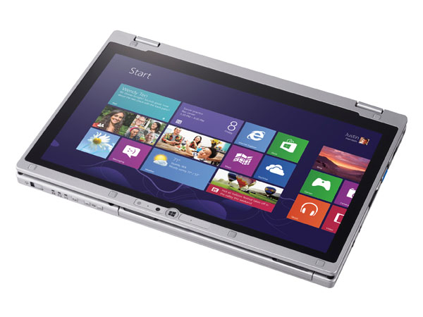 "Panasonic ToughBook CF-AX2: tablet ultrabook ""rugged"" con Windows 8"