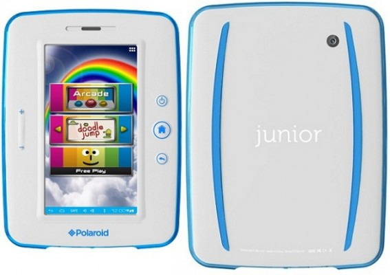 Polaroid Junior: tablet Android per i bambini