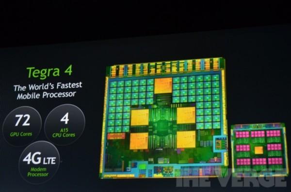 NVIDIA Tegra 4 annunciato ufficialmente al CES 2013
