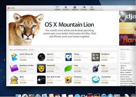 OS X 10.8.3: nuova versione Beta 12D78 per gli sviluppatori