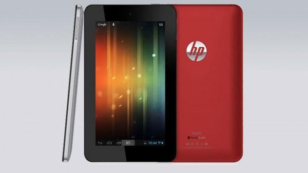 HP Slate 7: nuovo tablet Android in arrivo negli USA ad Aprile a 169 dollari