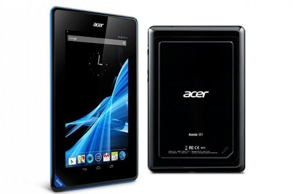 Acer Iconia B1: versione da 16 GB presto in arrivo a 139 euro