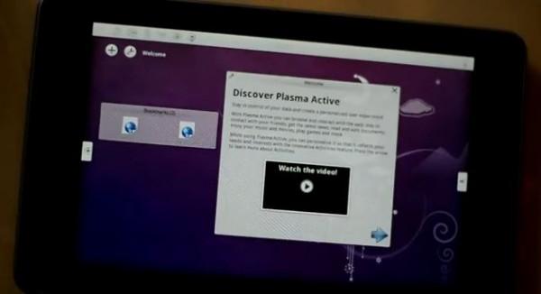 Google Nexus 7: video che mostra il sistema operativo KDE Plasma Active in azione