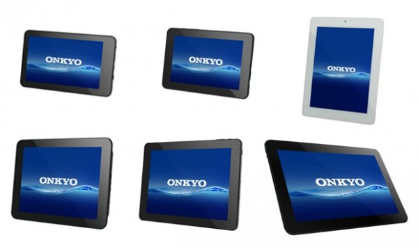 Onkyo SlatePad: nuova gamma di tablet Android Jelly Bean