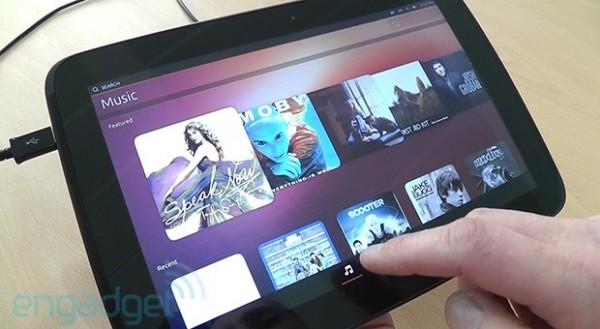 Ubuntu Touch: video anteprima dell'interfaccia utente