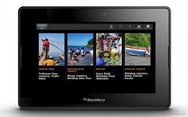 Blackberry: in arrivo il nuovo tablet Playbook 2 con BB10