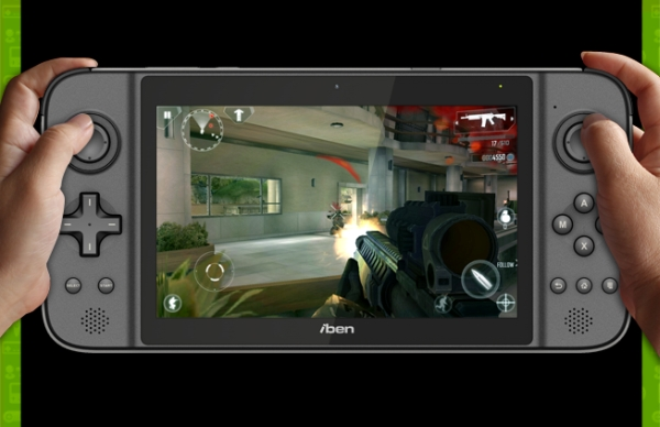IbenX GamePad è un nuovo gaming tablet quad core con display da 7 pollici