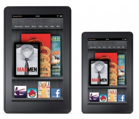 Amazon: possibile lo sviluppo del tablet Kindle Fire HD da 10 pollici