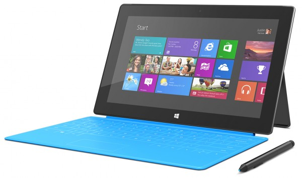 Microsoft Surface RT Mini: possibile con display da 8 pollici e chipset Tegra 4