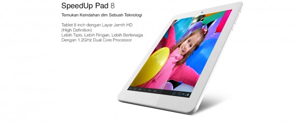 SpeedUp Pad: nuovo tablet Android da 7.9 pollici che sfida l'iPad Mini
