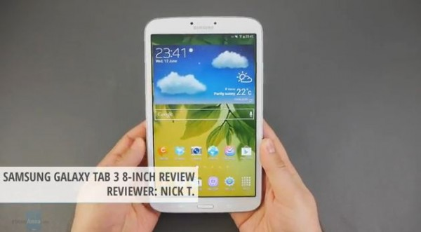 Samsung Galaxy Tab 3 8.0: video recensione del nuovo tablet da 8 pollici