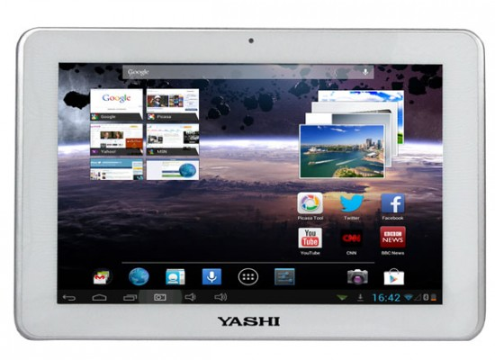 Yashi YPad A10 Pro: nuovo tablet Android con display da 10 pollici