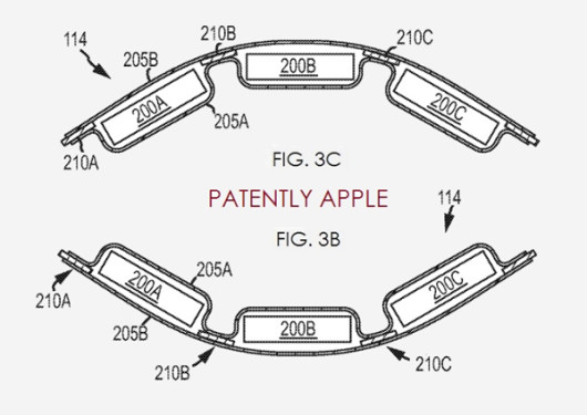 Apple brevetta un sistema di batterie per l'iWatch