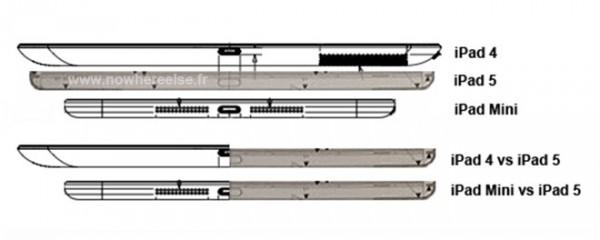 Apple iPad 5: nuove conferme sul design più sottile rispetto all'iPad 4