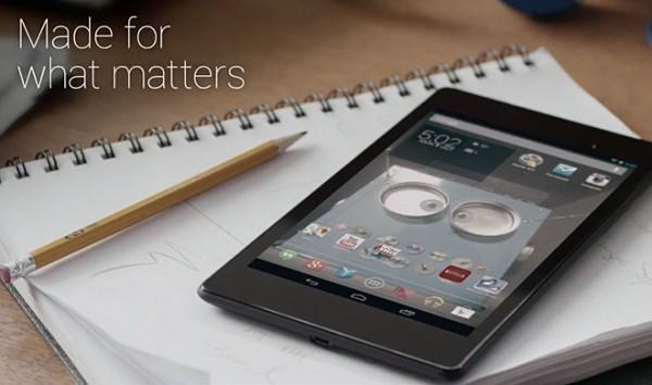 Google Nexus 7 2: primo video promozionale, prezzo e uscita in Italia
