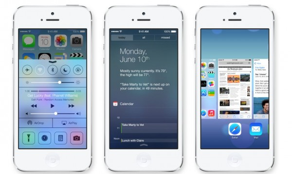 iOS 7: anteprima e prime impressioni del nuovo aggiornamento di sistema firmato Apple