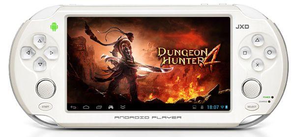 JXD S5110B: nuova console di gioco basata su Android con display da 5 pollici
