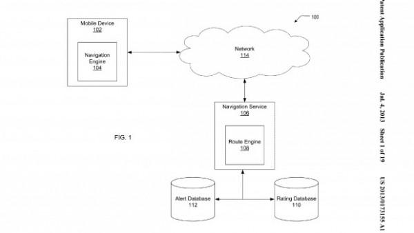 Apple brevetta un nuovo sistema di gestione delle Mappe in stile Waze