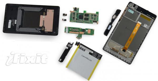 Google Nexus 7 2 smontato pezzo per pezzo da iFixit